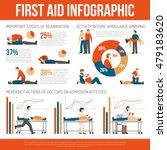 first aid guide and emergency... | Shutterstock .eps vector #479183620