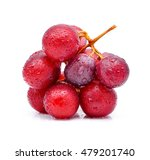 red grapes and water drops...   Shutterstock . vector #479201740