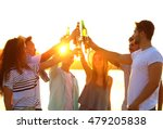 group of friends hanging out... | Shutterstock . vector #479205838