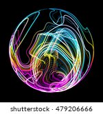 moving colorful lines of... | Shutterstock .eps vector #479206666