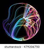 moving colorful lines of... | Shutterstock .eps vector #479206750