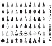 tree christmas icon  vector... | Shutterstock .eps vector #479211424