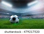 soccer ball on stadium | Shutterstock . vector #479217520