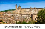 urbino is a walled city in the... | Shutterstock . vector #479227498