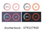 vector set of simple loading... | Shutterstock .eps vector #479227900