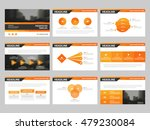 orange triangle presentation... | Shutterstock .eps vector #479230084