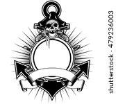 vector illustration sea anchor... | Shutterstock .eps vector #479236003