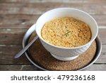 noodle in wood background  | Shutterstock . vector #479236168