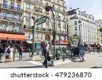 paris  france  on july 8  2016. ... | Shutterstock . vector #479236870