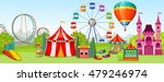 amusement park concept of... | Shutterstock .eps vector #479246974