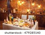 beautiful decorated wedding... | Shutterstock . vector #479285140