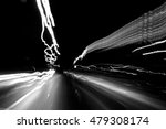 moving lights while driving in... | Shutterstock . vector #479308174