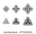 celtic knots set  traditional...