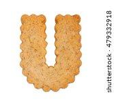 Cookie Alphabet Symbol   U...