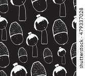 doodle seamless pattern with... | Shutterstock .eps vector #479337028