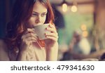 the girl in the cafe  a... | Shutterstock . vector #479341630