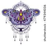 butterfly illustration | Shutterstock .eps vector #479344036