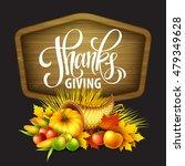 illustration of a thanksgiving...   Shutterstock .eps vector #479349628
