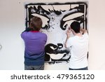 graffiti stencil street art.... | Shutterstock . vector #479365120