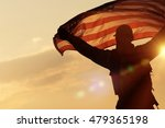 american flag celebration. navy ... | Shutterstock . vector #479365198