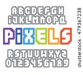pixel art style video game... | Shutterstock .eps vector #479367238