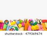 homemade crafts. materials for...   Shutterstock . vector #479369674