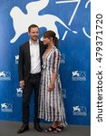 Small photo of Michael Fassbender, Alicia Vikander at the photocall for The Light Between Oceans at the 2016 Venice Film Festival. September 1, 2016 Venice, Italy