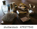 vintage shaving kit for man and ... | Shutterstock . vector #479377543