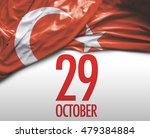 october 29  turkish independence | Shutterstock . vector #479384884