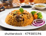 lamb madghout  popular arabic...   Shutterstock . vector #479385196