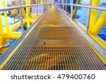 bridge and handrail with... | Shutterstock . vector #479400760
