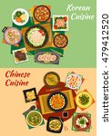chinese and korean cuisine icon ... | Shutterstock .eps vector #479412520