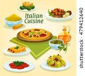 Italian Cuisine Pizza Carbonar...