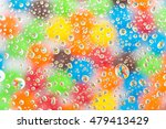 abstract water drops on... | Shutterstock . vector #479413429