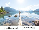 hike on garibaldi lake near... | Shutterstock . vector #479423200