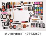 decorative cosmetics  top view | Shutterstock . vector #479423674