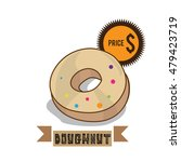 food dough nut | Shutterstock .eps vector #479423719