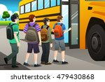 a vector illustration of kids... | Shutterstock .eps vector #479430868