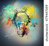 new creative idea | Shutterstock . vector #479447059