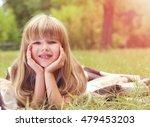 portrait of little girl in the... | Shutterstock . vector #479453203