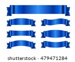 ribbon banners set. sign blank... | Shutterstock .eps vector #479471284