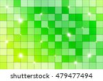 green mosaic with bright... | Shutterstock .eps vector #479477494