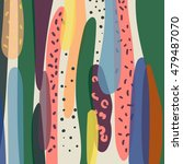 vector pattern. modern stylish... | Shutterstock .eps vector #479487070