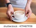 wake up. close cup of a cup of... | Shutterstock . vector #479487958