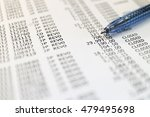 Small photo of Account statement (Soft focus)