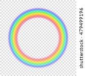transparent rainbow. vector... | Shutterstock .eps vector #479499196