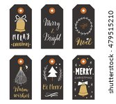 hand drawn christmas holiday... | Shutterstock .eps vector #479515210