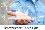 businessman holding digital... | Shutterstock . vector #479515858
