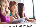 students in classroom   young... | Shutterstock . vector #479521408