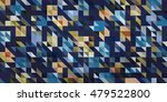 blue mosaic background ... | Shutterstock .eps vector #479522800